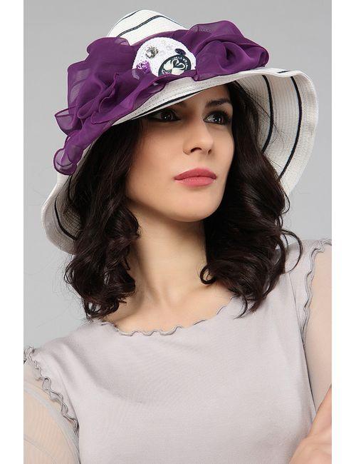 Lak Miss   Женская Белая Шляпа