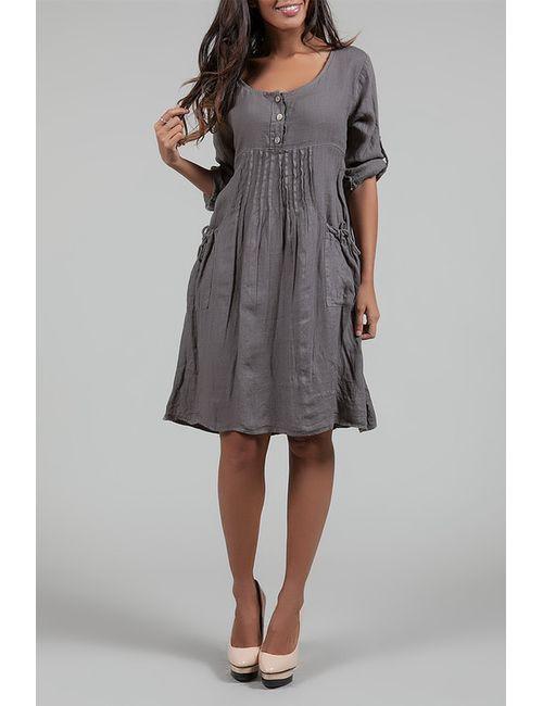 Des Si Belles | Женское Коричневое Платье