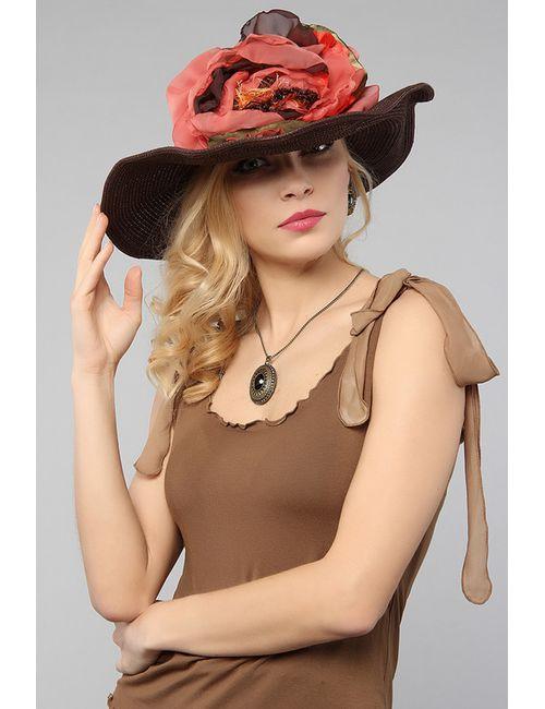 Lak Miss | Женская Коричневая Шляпа