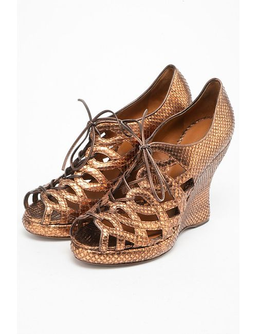 Bottega Veneta | Женские Коричневые Туфли