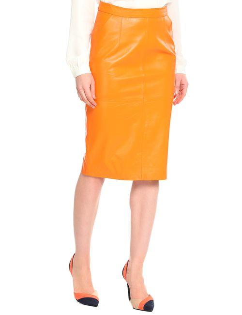 Izeta Street | Женская Оранжевая Юбка