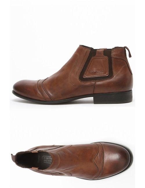 Camel Active | Мужские Коричневые Ботинки