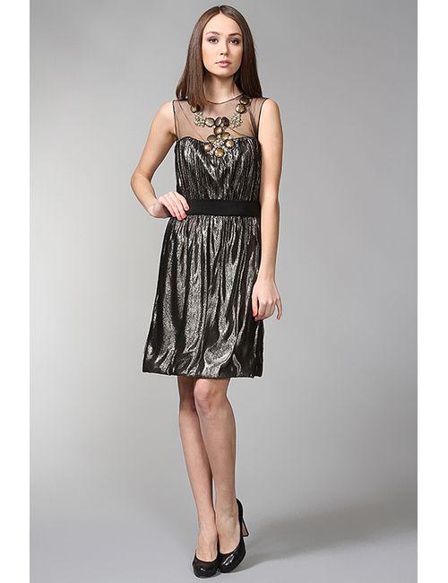 Monique Lhuillier | Женское Золотое Платье Вечернее
