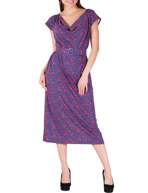 Sonett | Женское Фиолетовое Платье