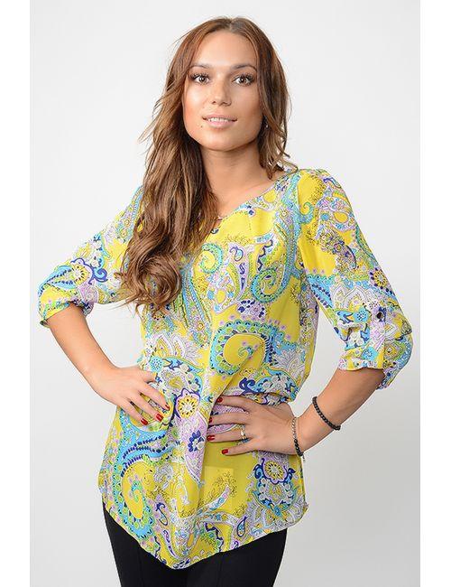 L.A.V. Fashion | Женская Жёлтая Блузка
