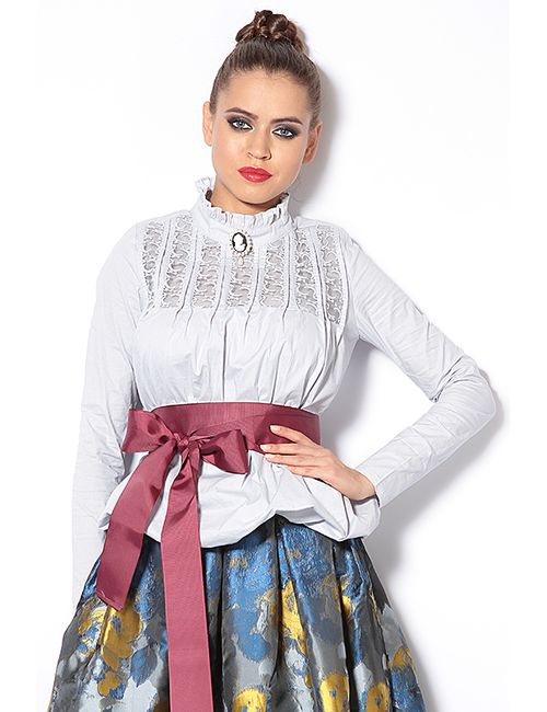 Tutto Bene | Женская Серая Блуза