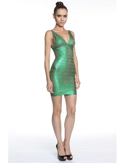 Tutto Bene | Женское Зелёное Платье