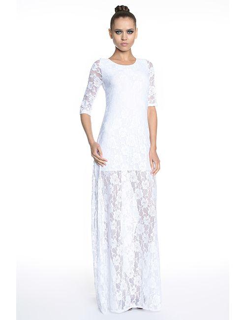 TUTTO BENE FOR KUPIV | Женское Белое Платье