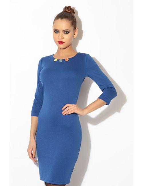 L.A.V. Fashion | Женское Фиолетовое Платье Футляр
