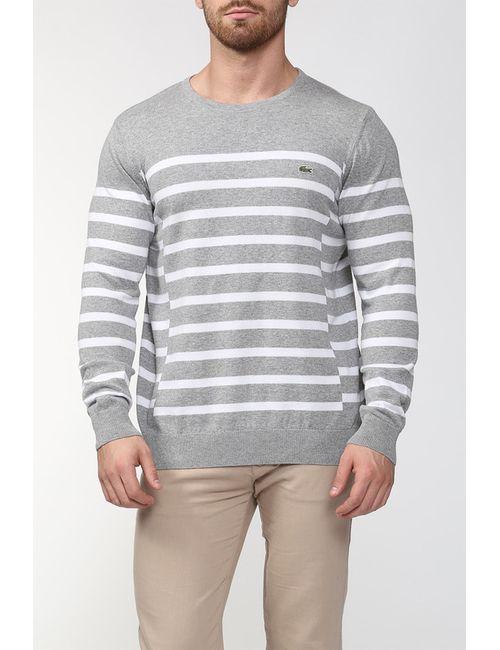 Lacoste | Мужской Белый Пуловер