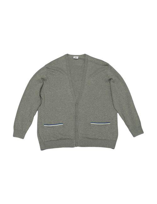 Lacoste   Мужской Серый Пуловер