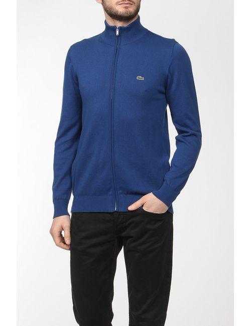 Lacoste | Мужской Синий Пуловер