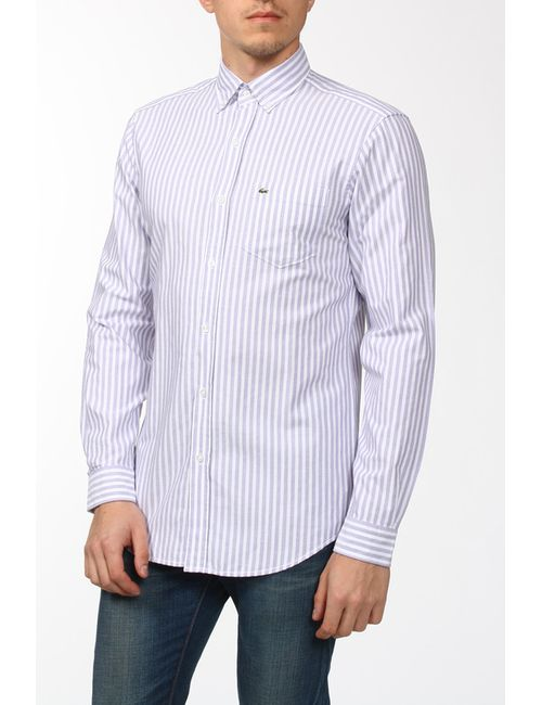 Lacoste | Мужская Белая Рубашка
