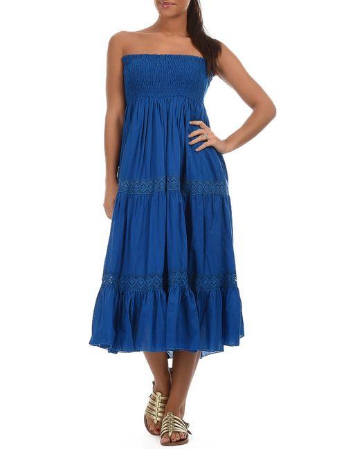 Goa | Женское Синее Платье