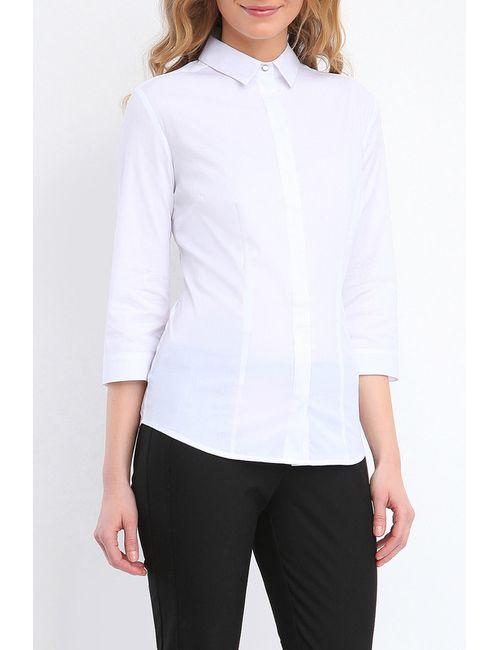 Top Secret | Женская Белая Рубашка С Длинным Рукавом