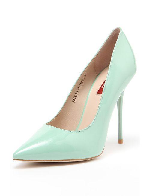 Milana | Женские Зелёные Туфли