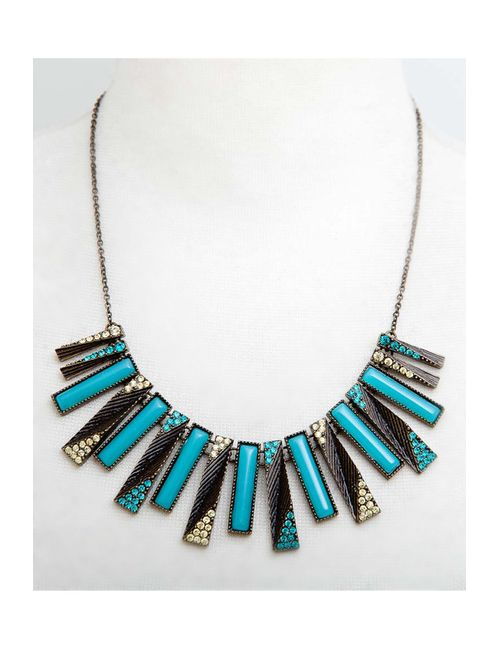 Asavi Jewel | Женское Голубое Колье