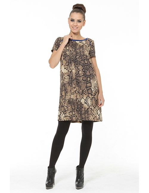 Waggon Paris | Женское Многоцветное Платье