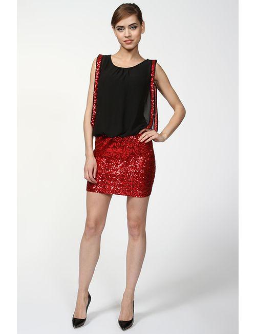 Kei Kei | Женское Красное Платье Коктейльное