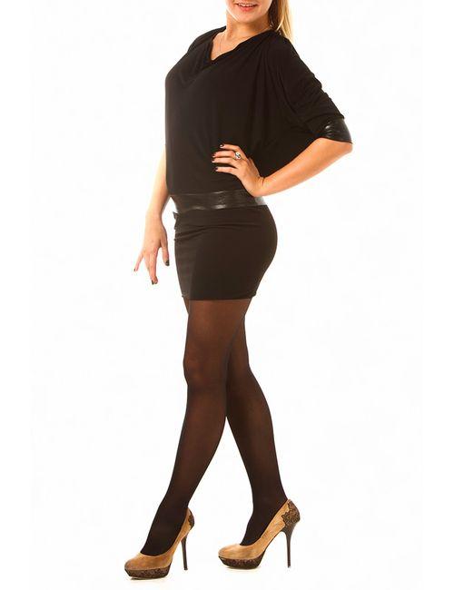Fervente | Женское Чёрное Платье
