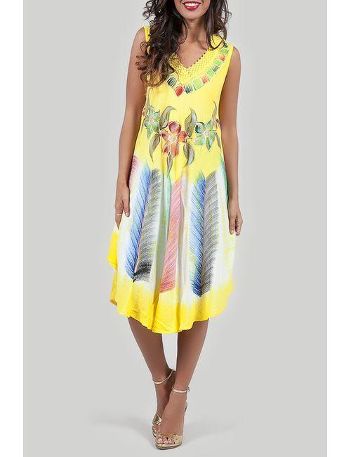 Anabelle | Женское Жёлтое Платье