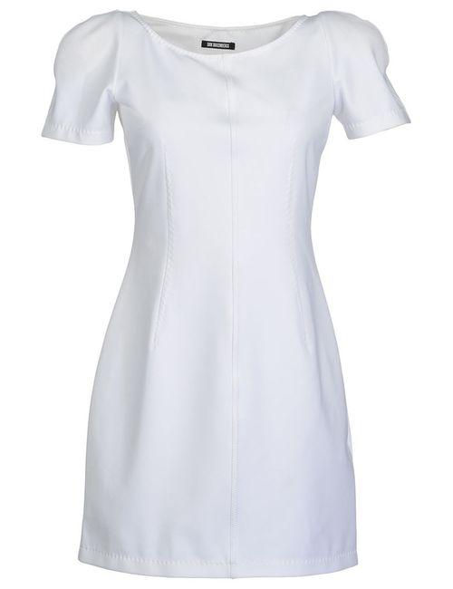 Bikkembergs | Женское Белое Платье