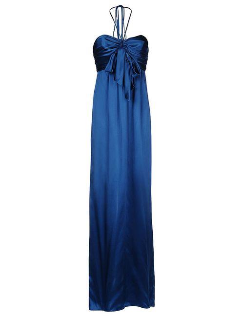 Galliano | Женское Синее Платье
