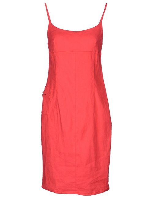 ARMANI JEANS   Женское Красное Платье
