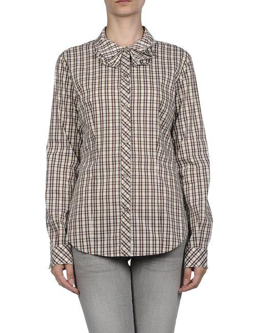 Love Moschino | Женская Коричневая Рубашка