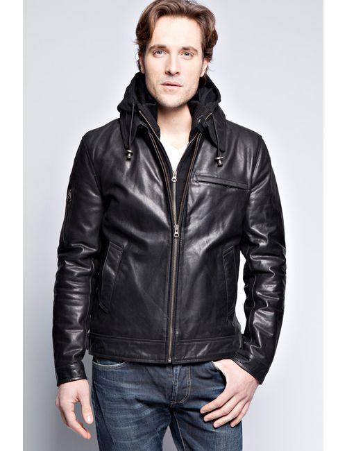 John & Yoko | Мужская Чёрная Куртка