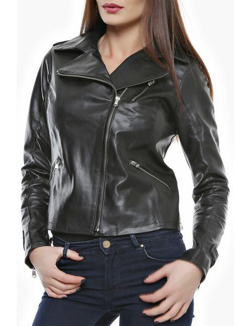 Mangotti | Женская Чёрная Куртка