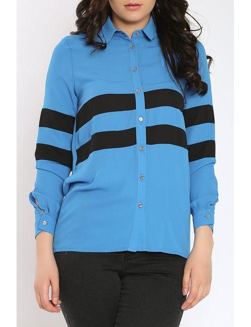 Collezione Di Ines | Женская Синяя Рубашка