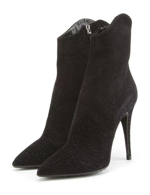 Loriblu | Женские Чёрные Ботинки