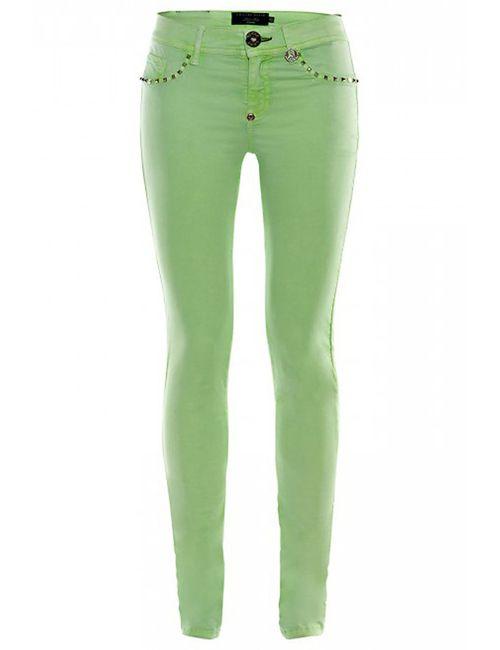 Philipp Plein | Женские Зелёные Джинсы