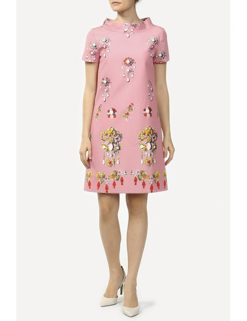Oscar de la Renta | Женское Розовое Платье