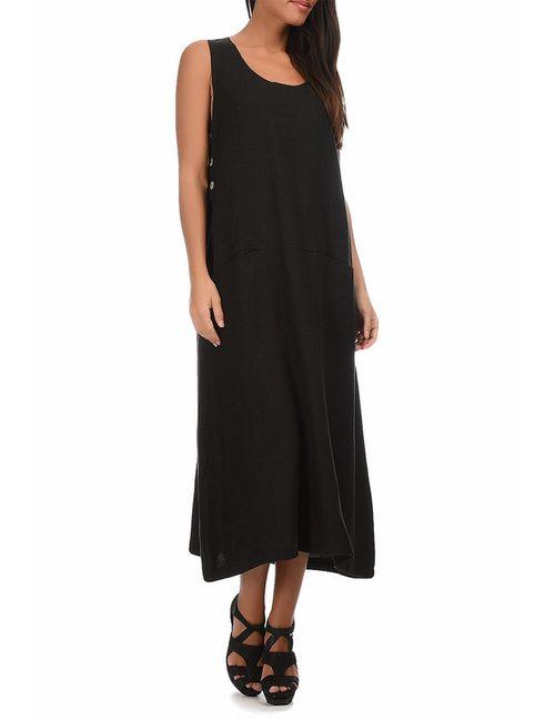 Eva tralala | Женское Чёрное Платье