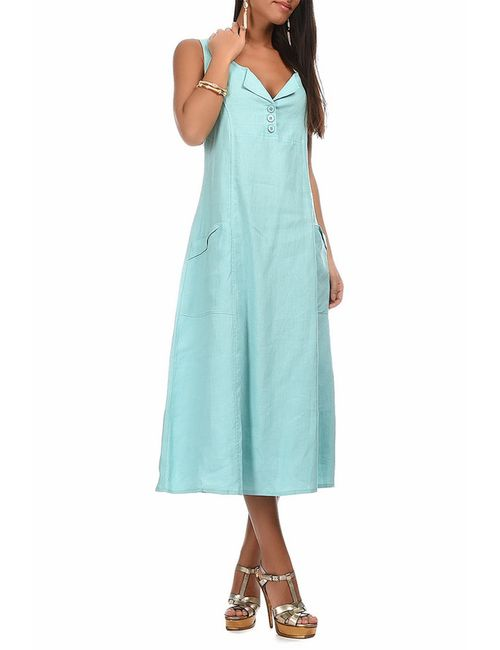 Eva tralala | Женское Синее Платье