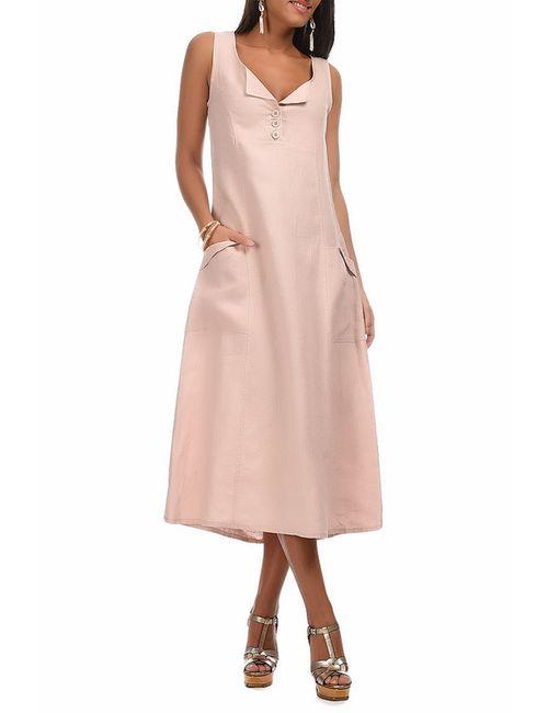Eva tralala | Женское Розовое Платье
