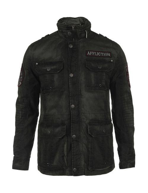 Affliction | Мужская Зелёная Куртка