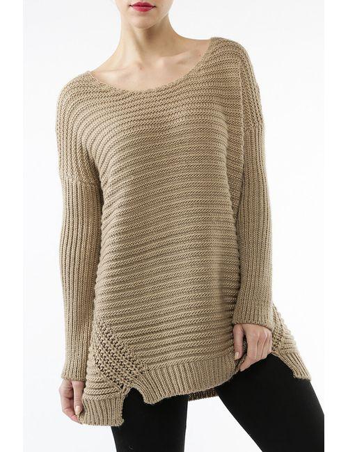 Charlise | Женский Бежевый Пуловер