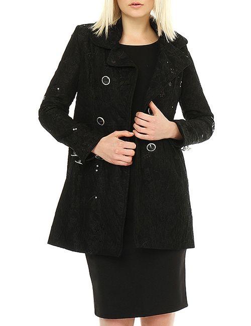 ELEGANT TOUCH | Женское Чёрное Пальто
