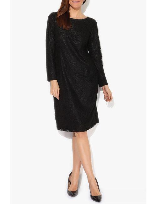 Exline | Женское Чёрное Платье