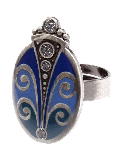 Clara Bijoux | Женское Голубое Кольцо
