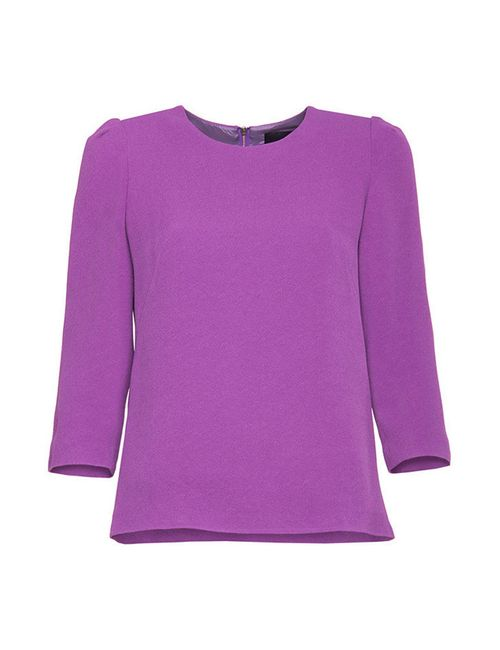 Simple | Женская Фиолетовая Блуза