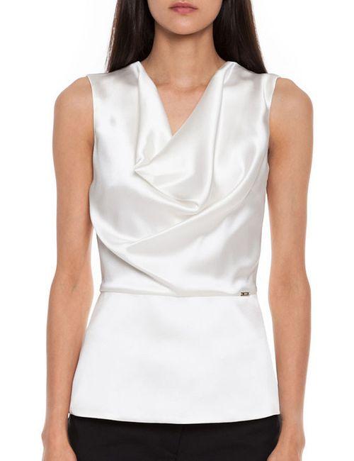 Simple | Женская Белая Блуза