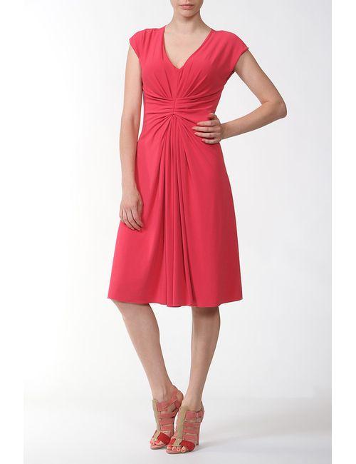 Armani | Женское Розовое Платье Джерси