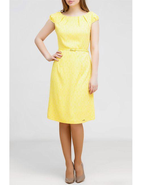 Remix | Женское Жёлтое Платье