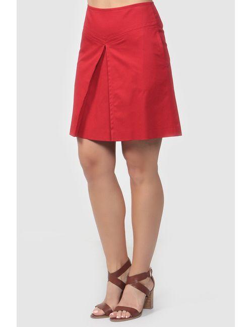 Valentino Red | Женская Красная Юбка