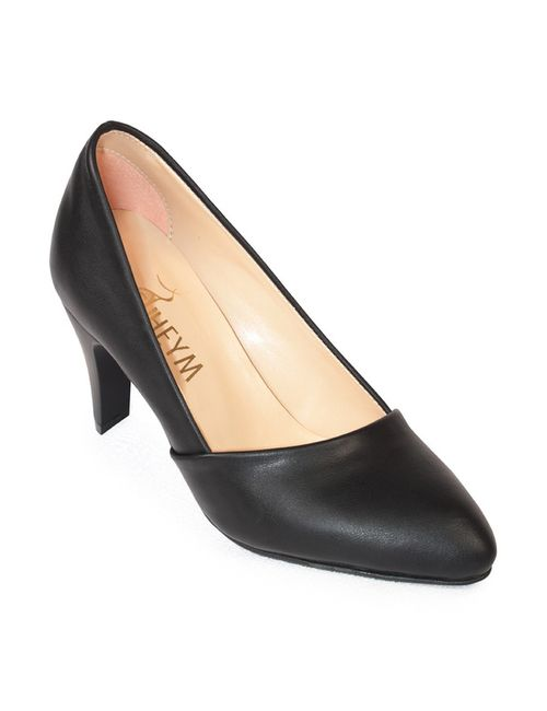 SUHEYM | Женские Чёрные Туфли