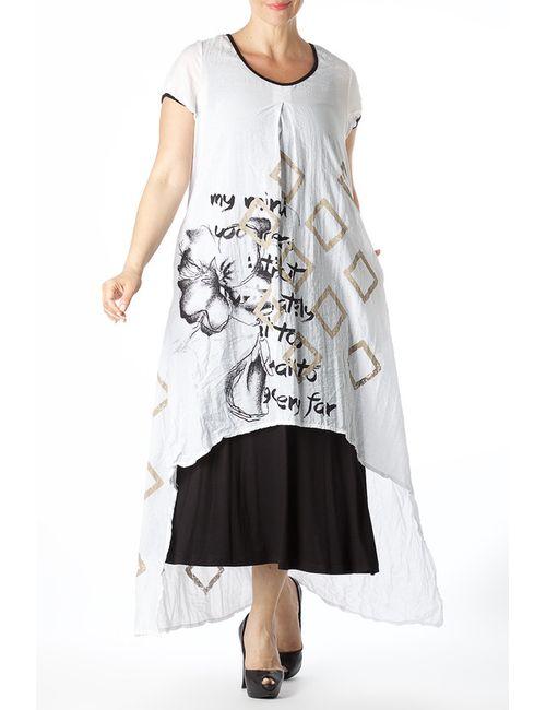 Zedd Plus | Женское Белое Платье